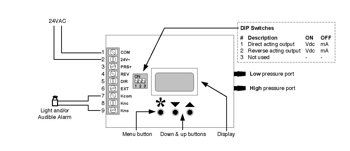 Simple Circuit Configuration For A Thermostat Circuit For A